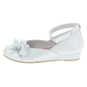 Zapatos Shimmer Flower para niñas pequeñas
