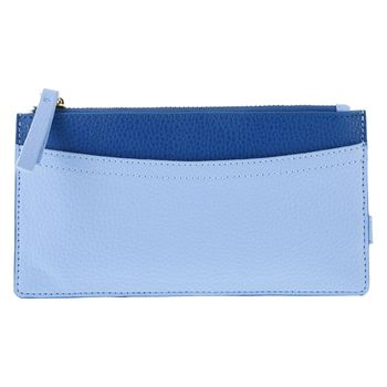 Billetera Azul cc para mujer