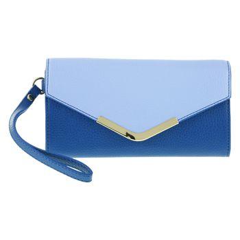 Billetera Azul CB para mujer