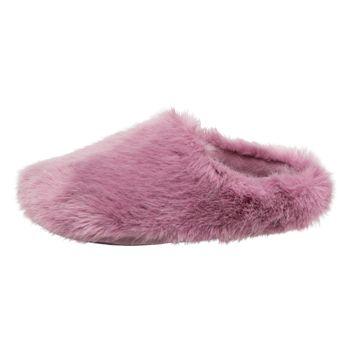 Pantuflas Furry para mujer