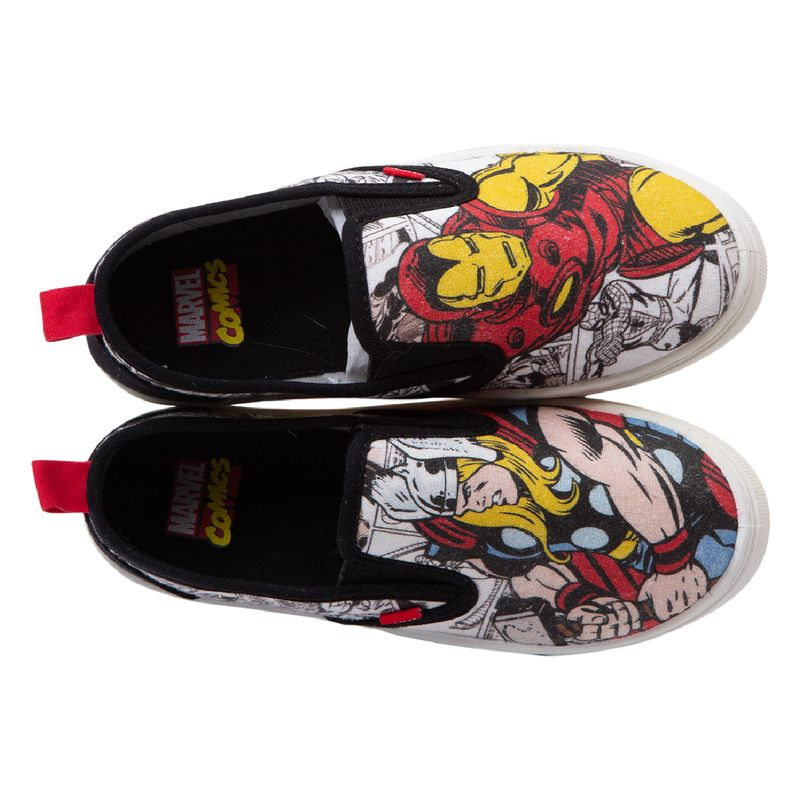 Zapatos-casuales-Retro-comic-para-niños-Payless